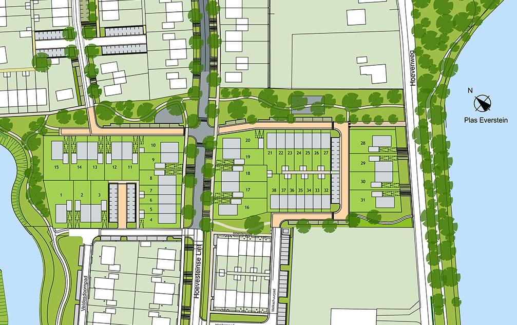 Kavelkaart Nieuwbouwproject BijVianen